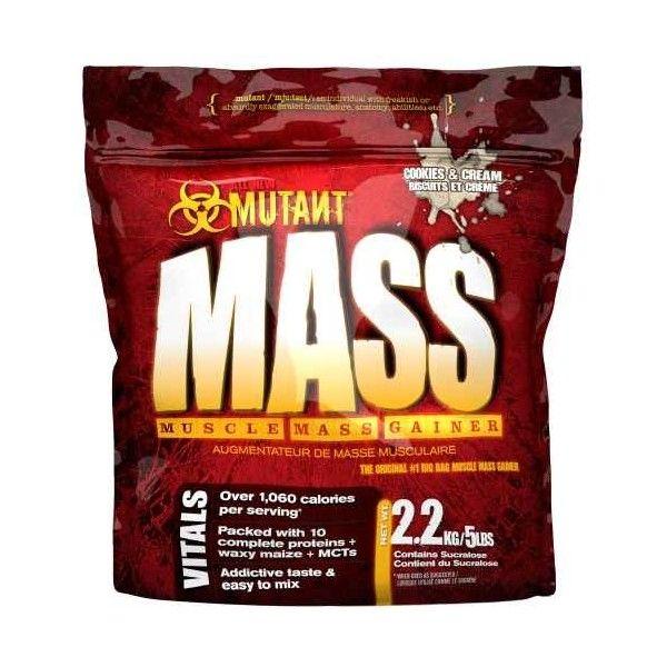 Gainer Mutant Mass - PVL - 2270g - cookies - krém