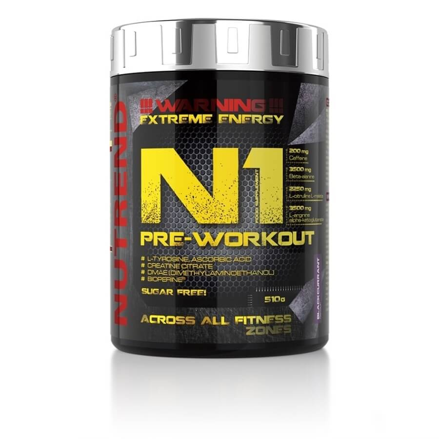 Nutrend N1 Pre-Workout 510 g  Grapefruit