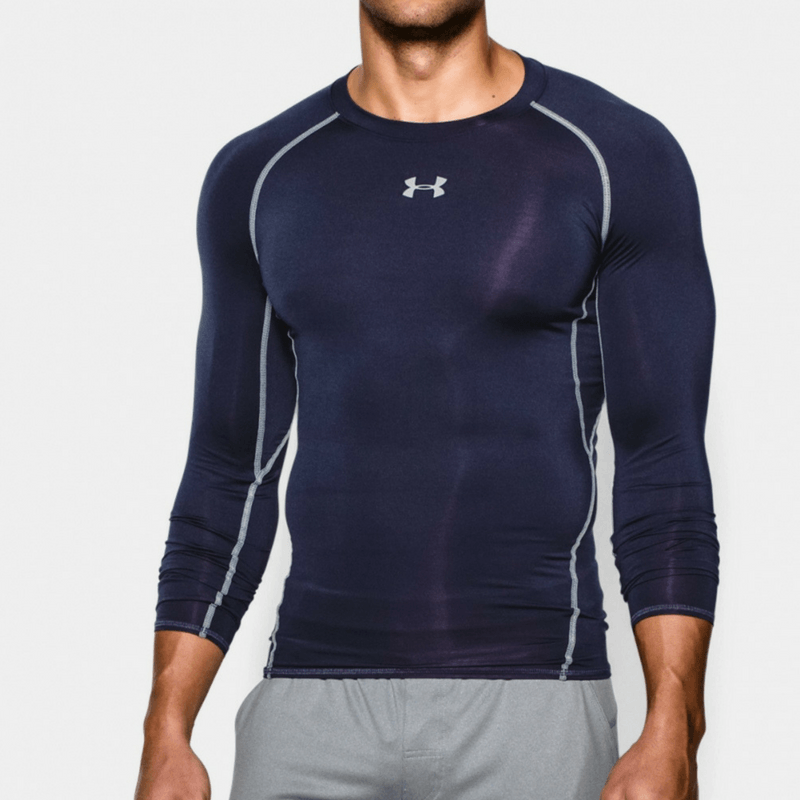 Under Armour Kompresné tričko HG Armour LS Navy XL