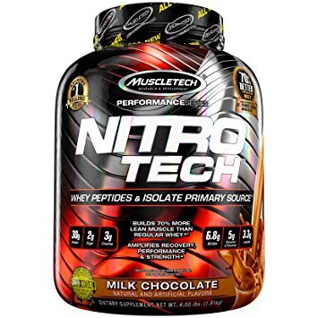 MUSCLETECH NITRO-TECH PRO SERIES 1800 g - chocolate chip cookie dough