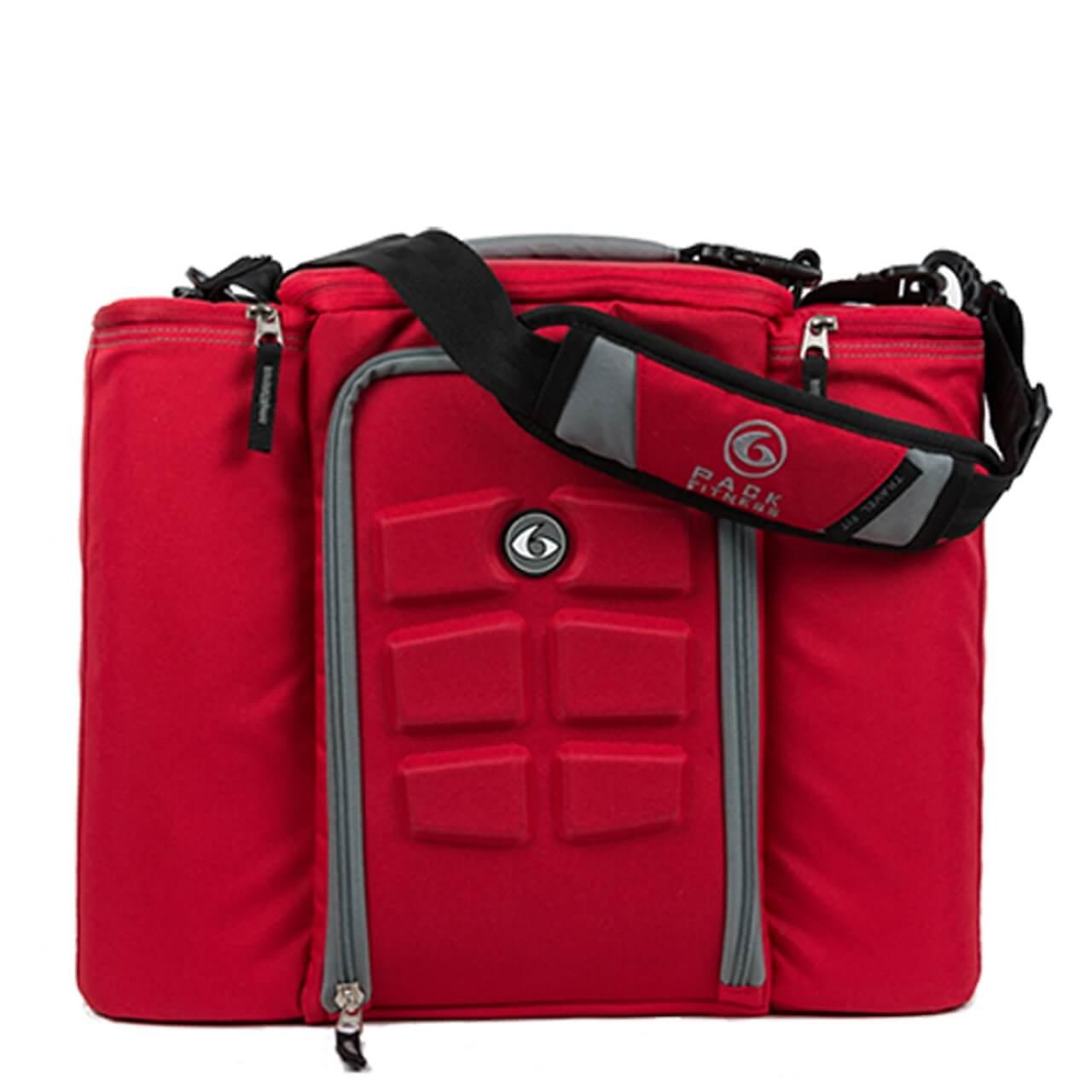 Taška na jedlo Expert Innovator 500 Red/Grey - 6 Pack Fitness
