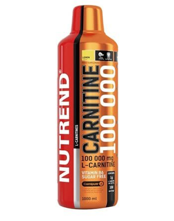 Nutrend Carnitine 100000 1000 ml Orange