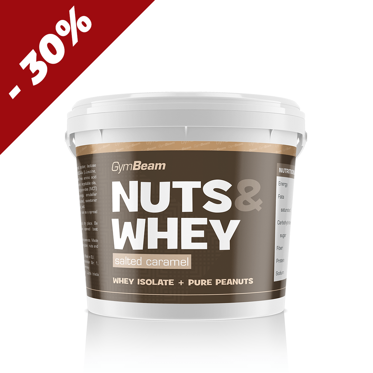 GymBeam Nuts & Whey 1000 g - chocolate