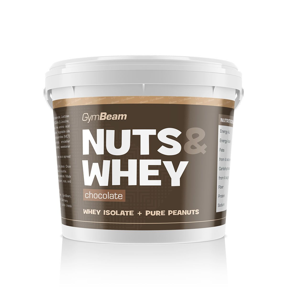 GymBeam Nuts & Whey 1000 g - vanilla