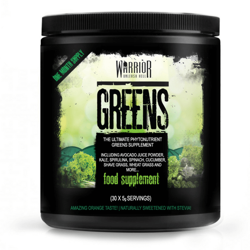 Warrior Greens 150 g - orange