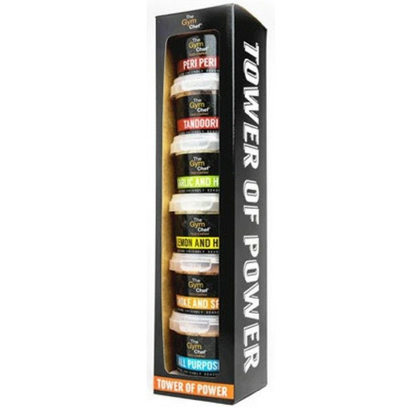 The Gym Chef Tower of Power 6x50g