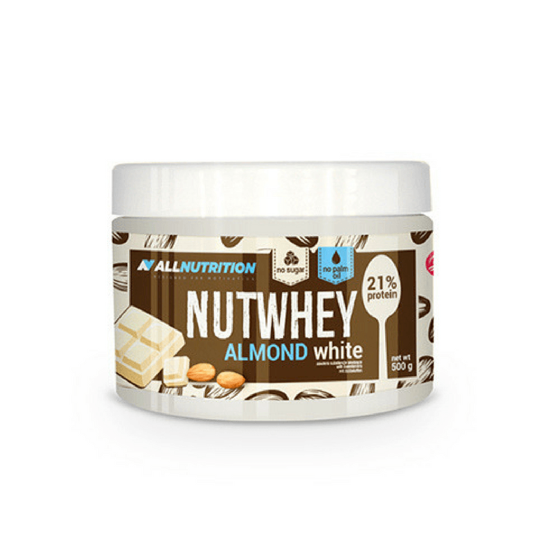 All Nutrition NutWhey Almond 500 g - white chocolate