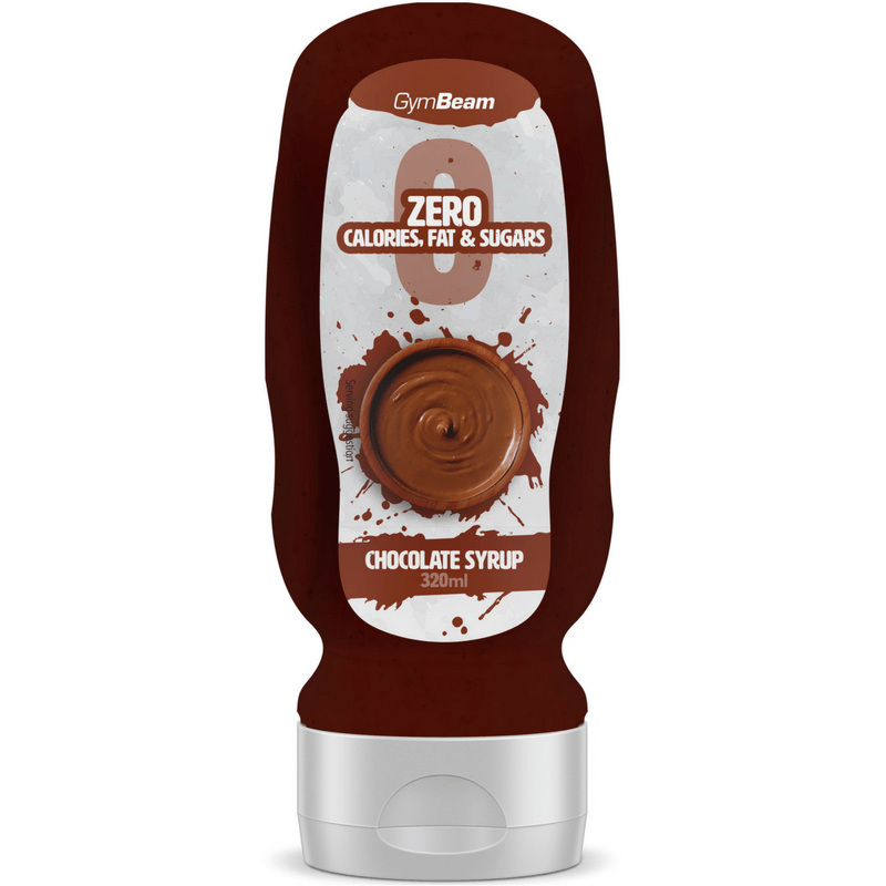 GymBeam Chocolate Syrup 320 ml