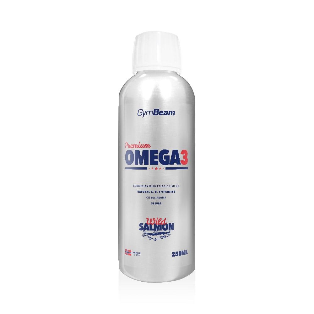 GymBeam Premium Omega 3 250 ml - citrus