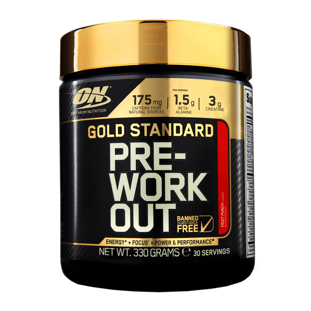 Optimum Gold Standard Pre-Workout 330 g - green apple