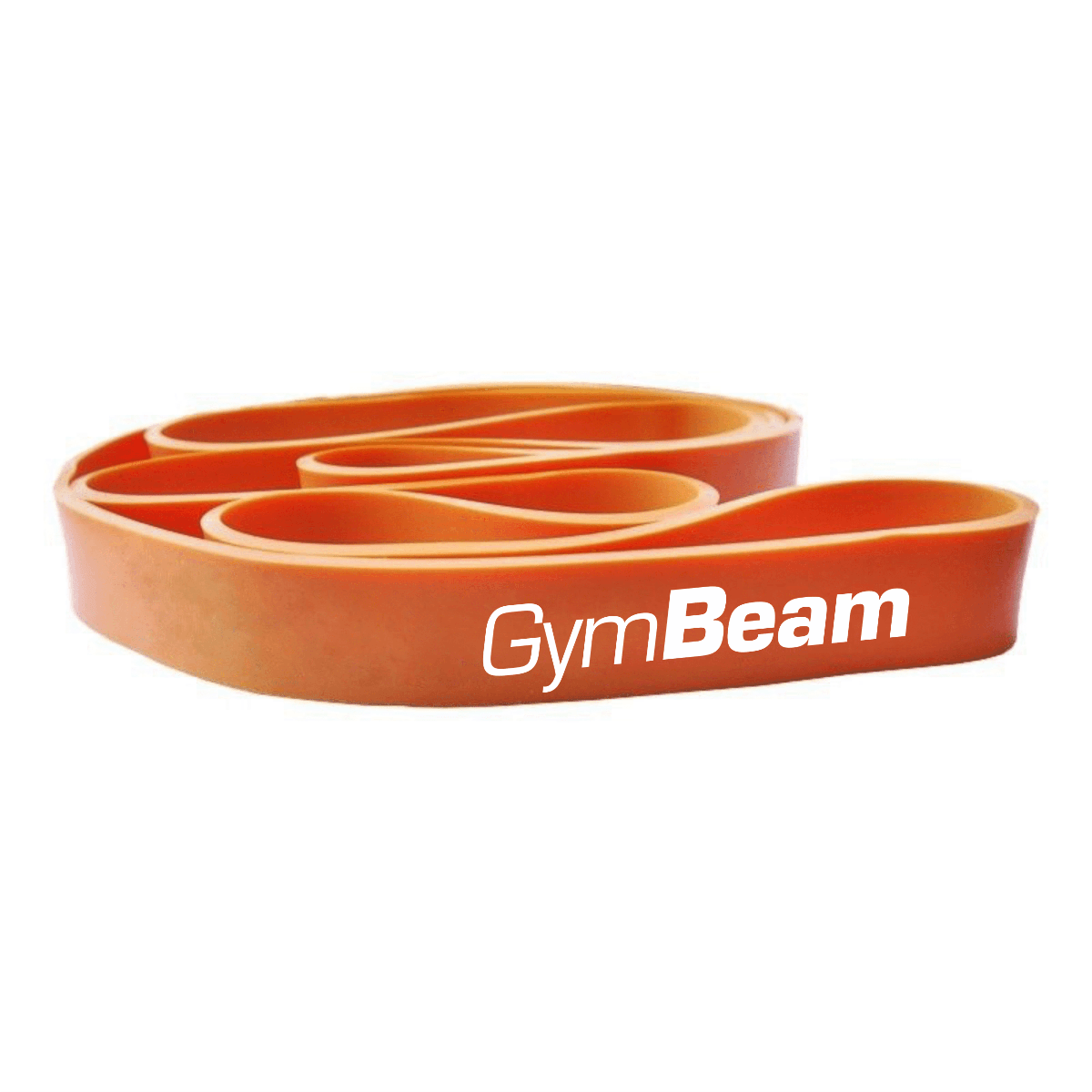 Posilňovacia guma Cross Band Level 2 - GymBeam - orange