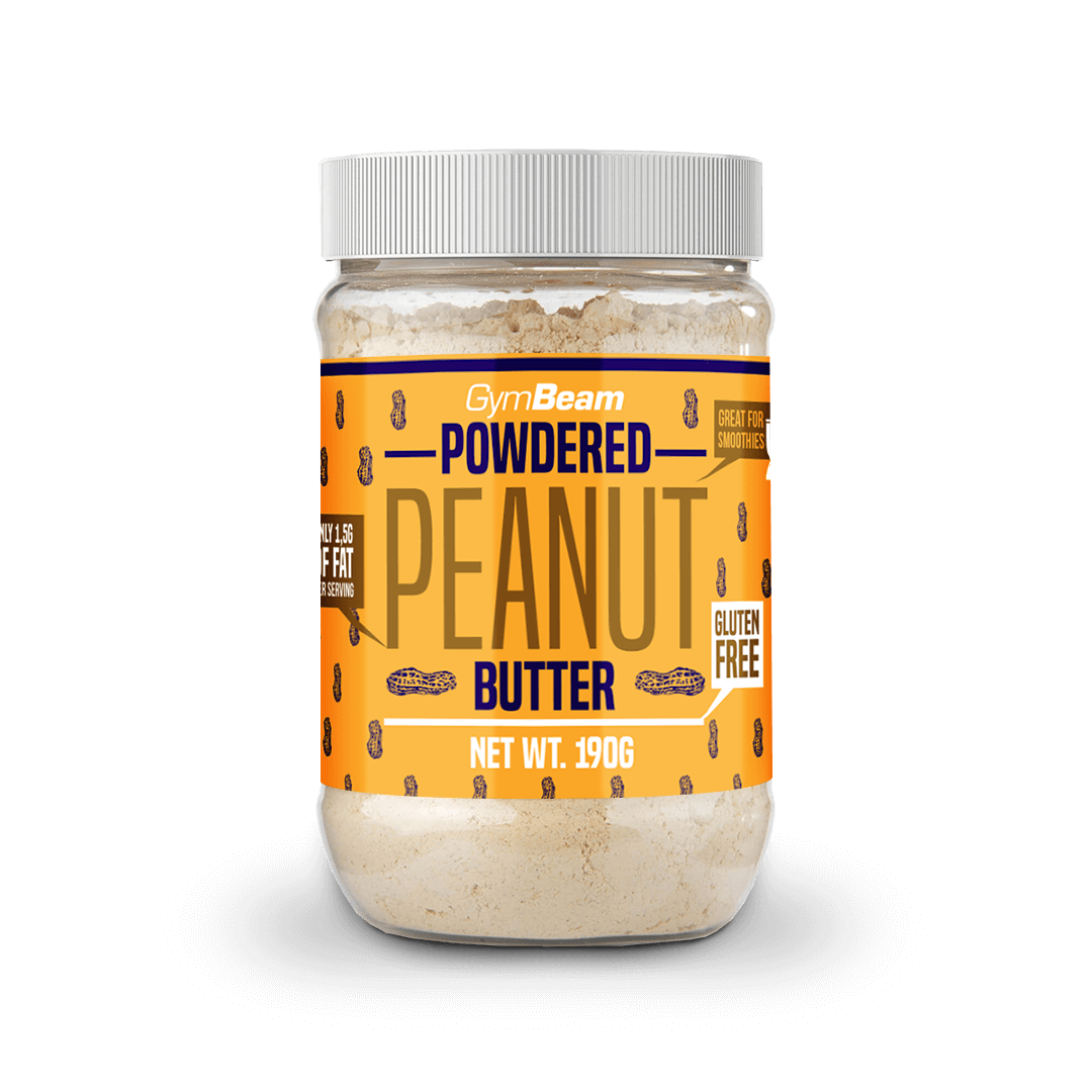 GymBeam Powdered Peanut Butter 190 g