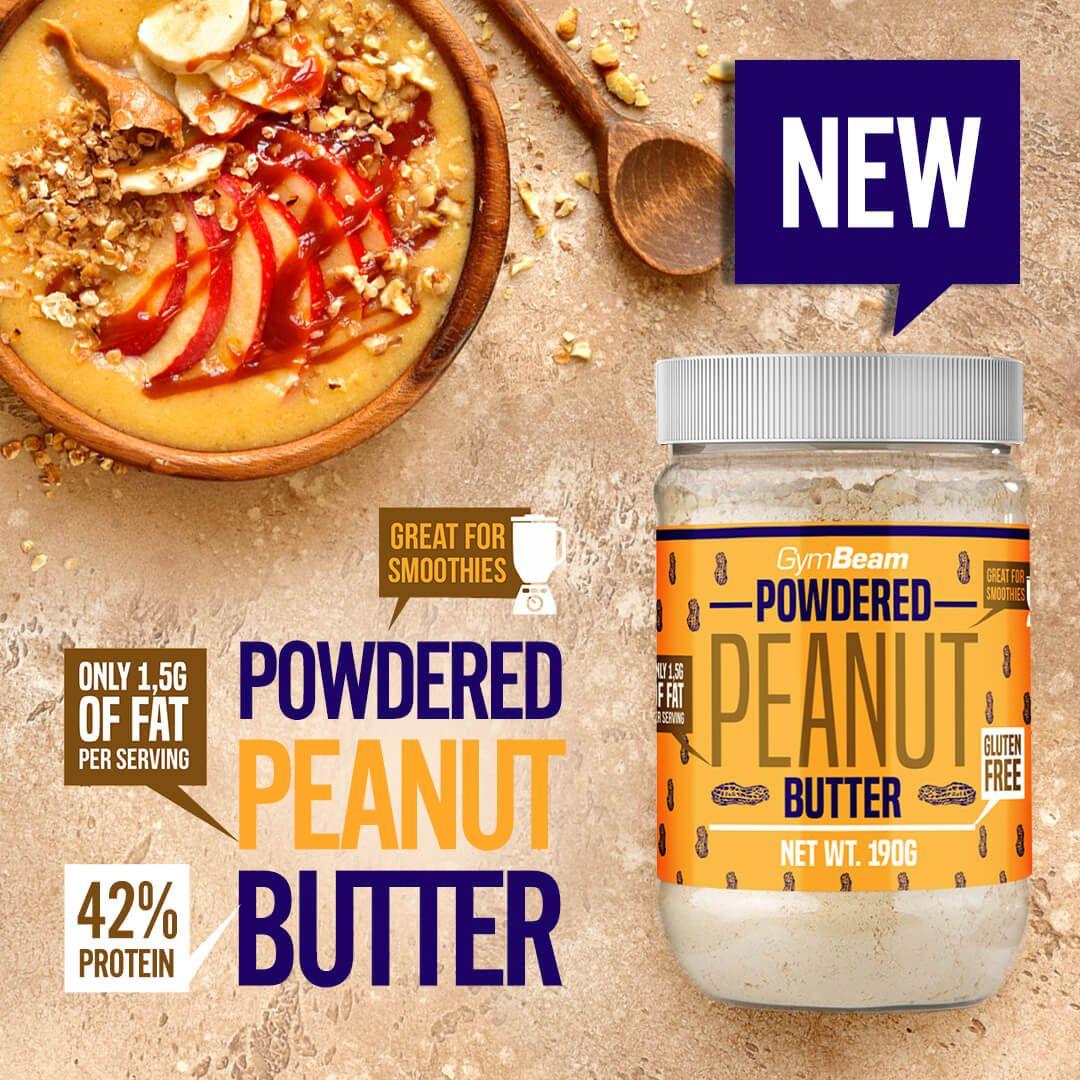 GymBeam Powdered Peanut Butter 190 g