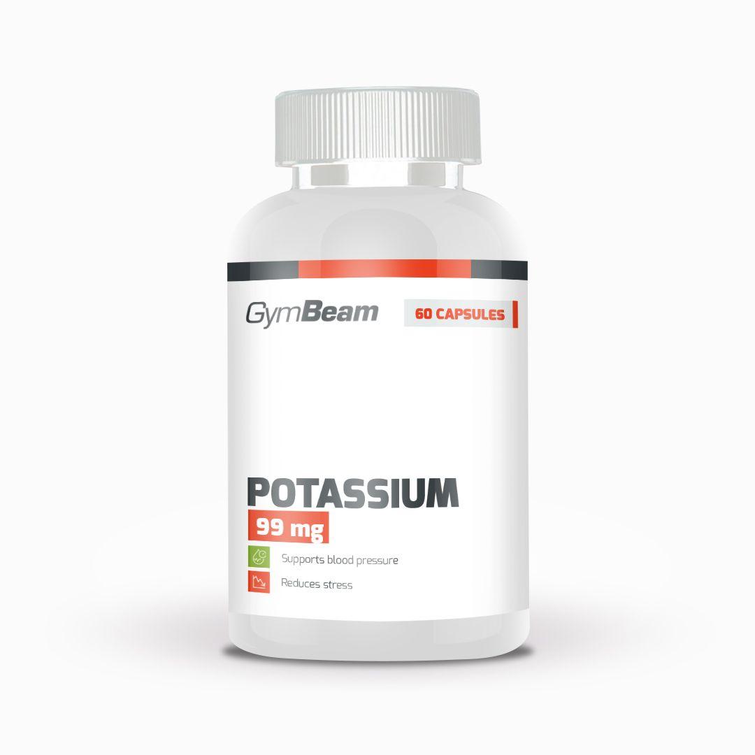 GymBeam Potassium 60 kaps