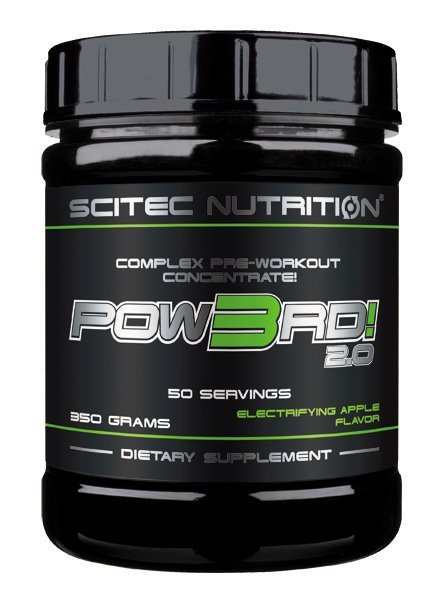 Pow3rd! 350 g - Scitec Nutrition-Sour Cherry