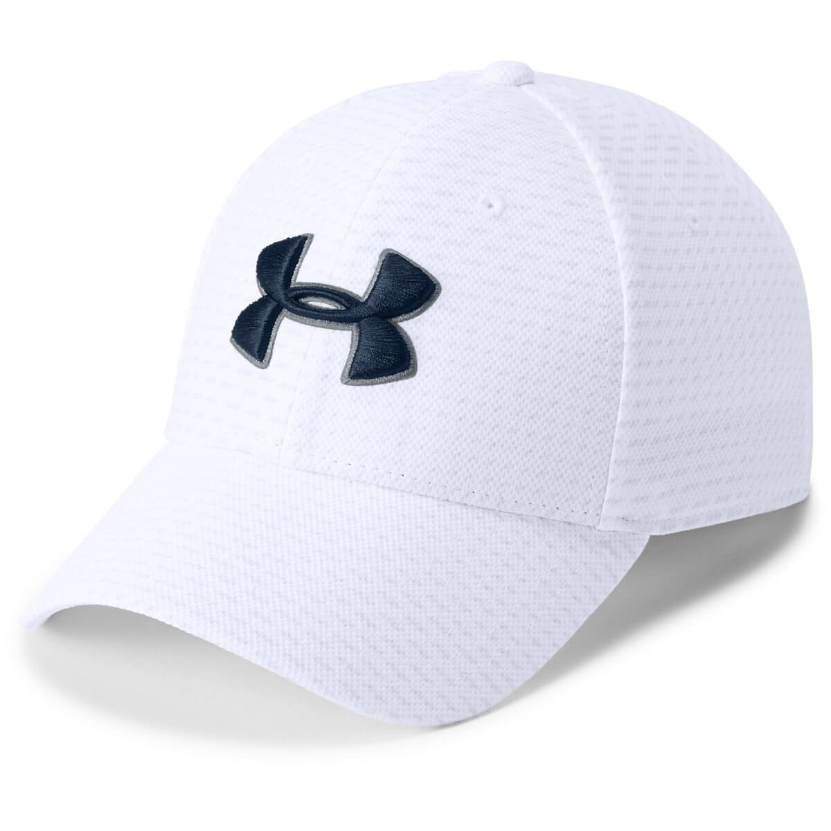 Under Armour Šiltovka Men's Printed Blitzing 3.0 White ML