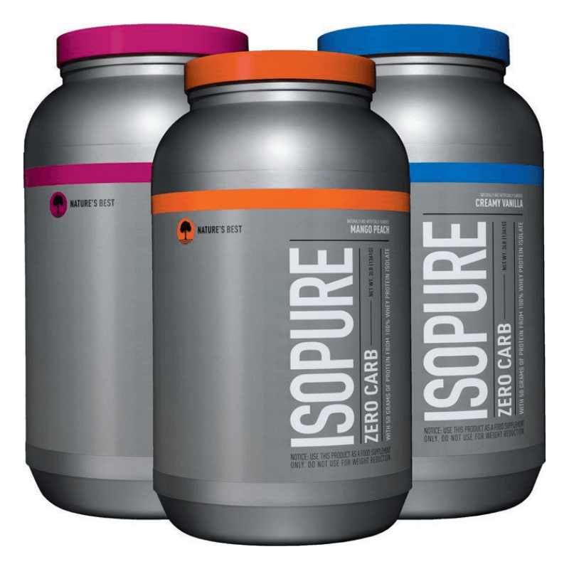 Protein Isopure Low Carb  Zero Carb - Natures Best