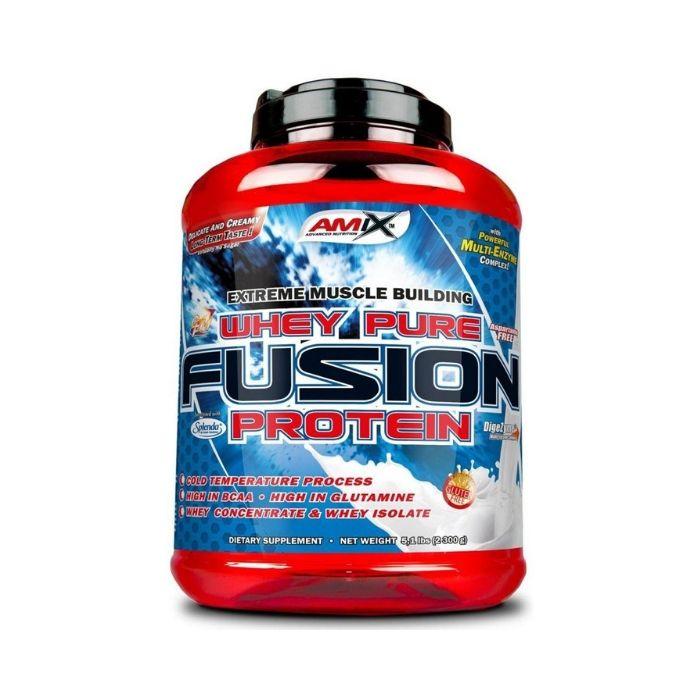 Protein Whey-Pro Fusion 2300 g čokoláda - Amix