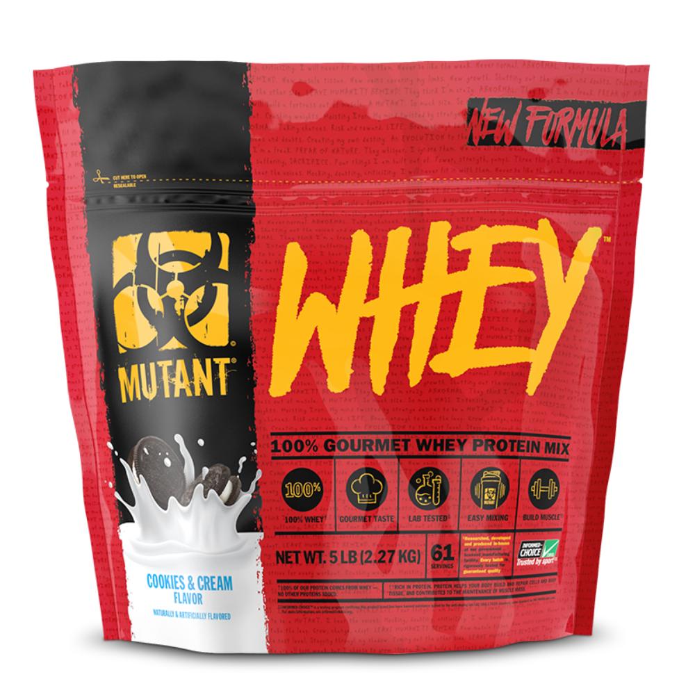 Levně Protein Mutant Whey 2270 g čokoláda fondán brownie - PVL