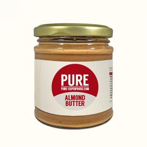 Pure Natural Almond Butter 170 g