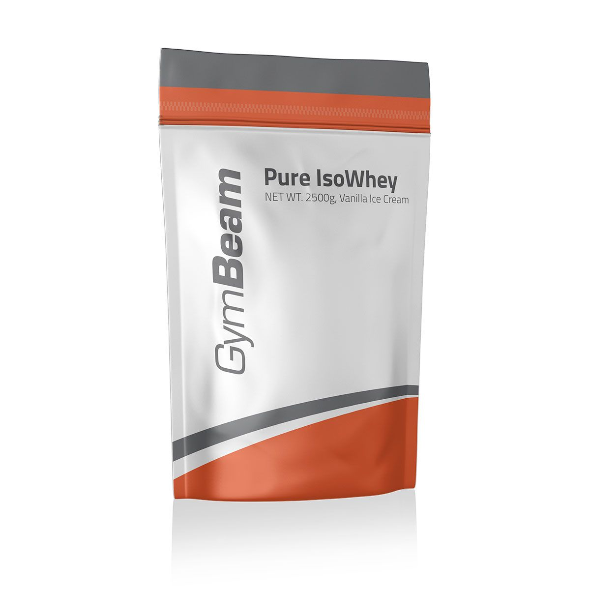 GymBeam Pure IsoWhey 2500 g - strawberry cream
