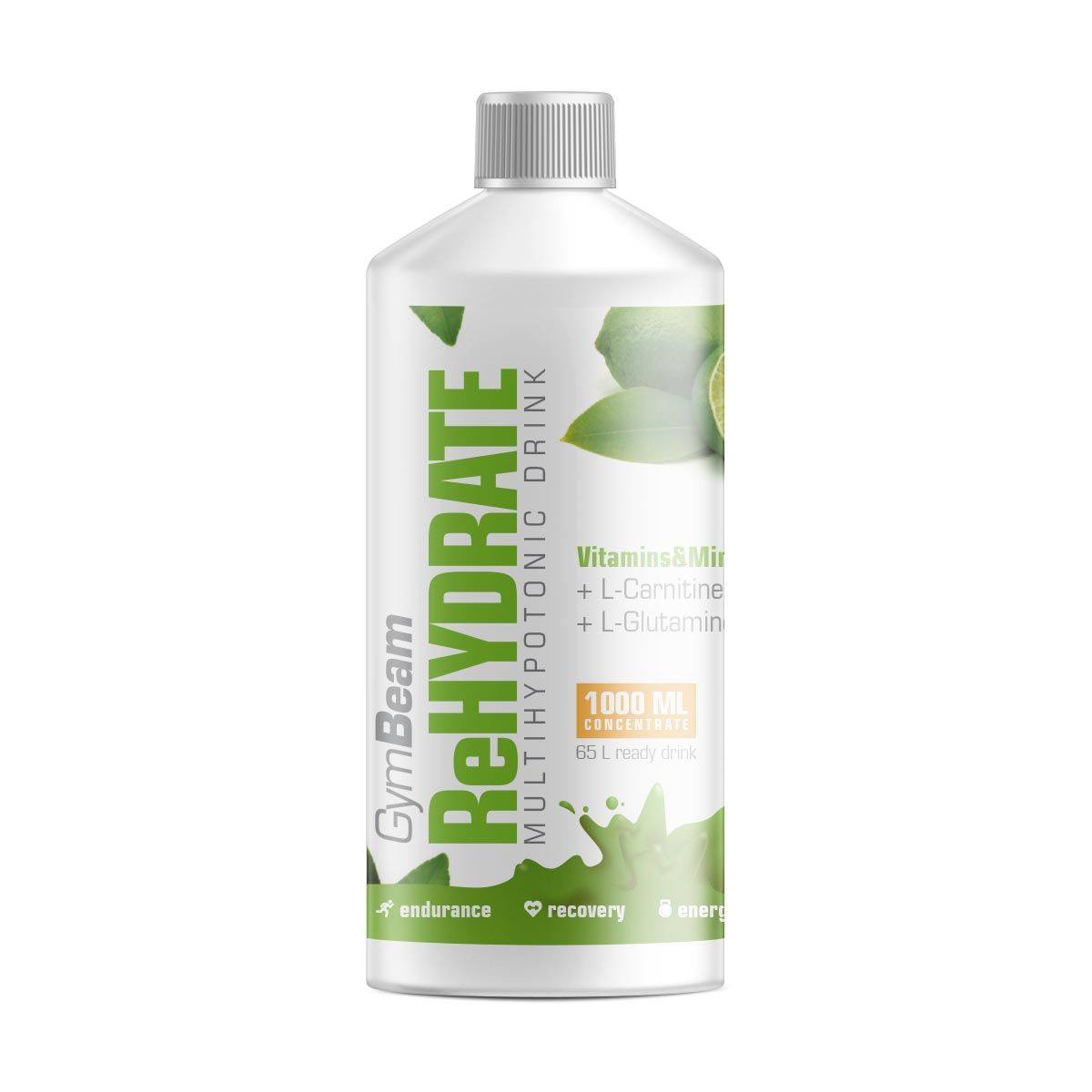 GymBeam ReHydrate 1000 ml - lemon lime