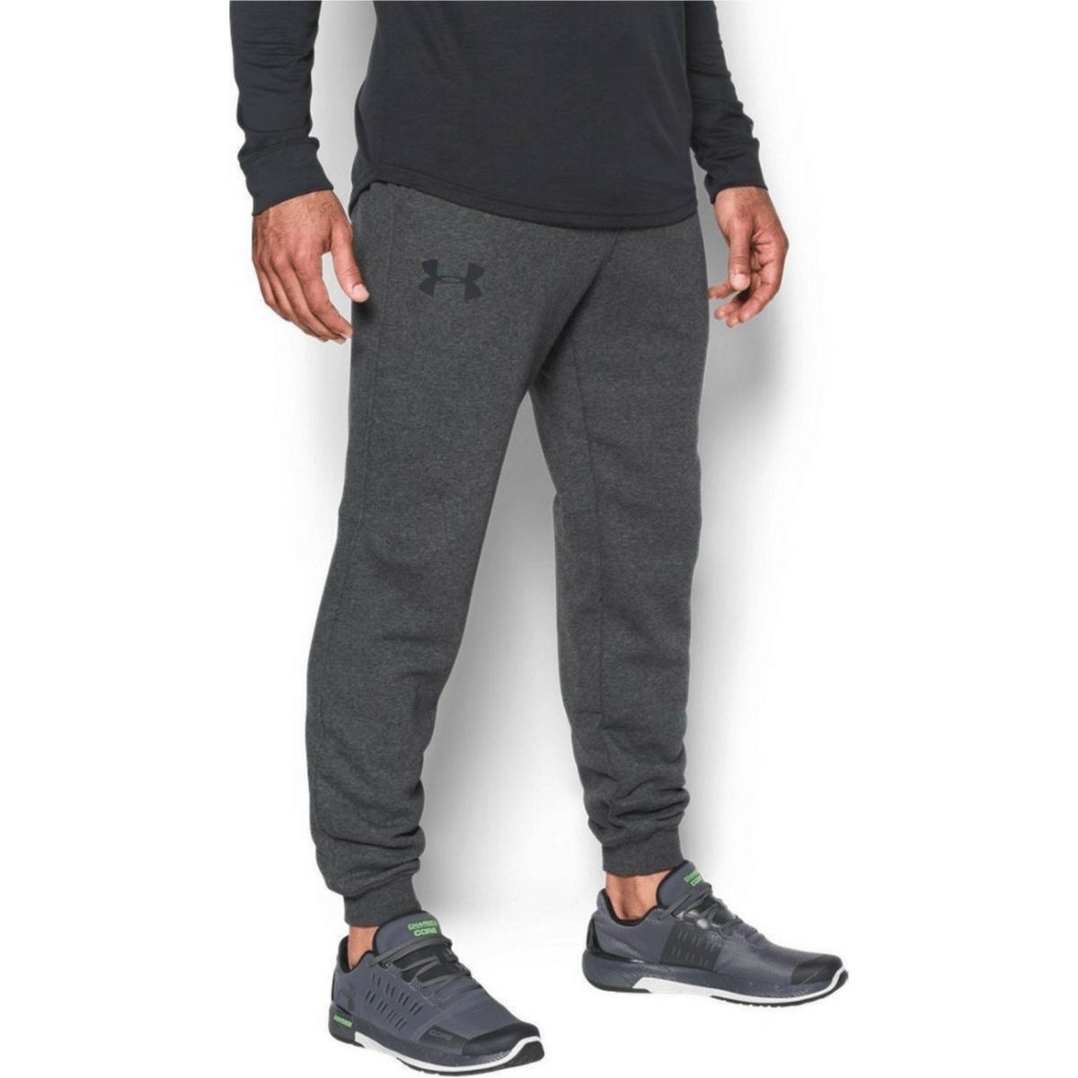 Under Armour Rival Cotton Jogger Grey S