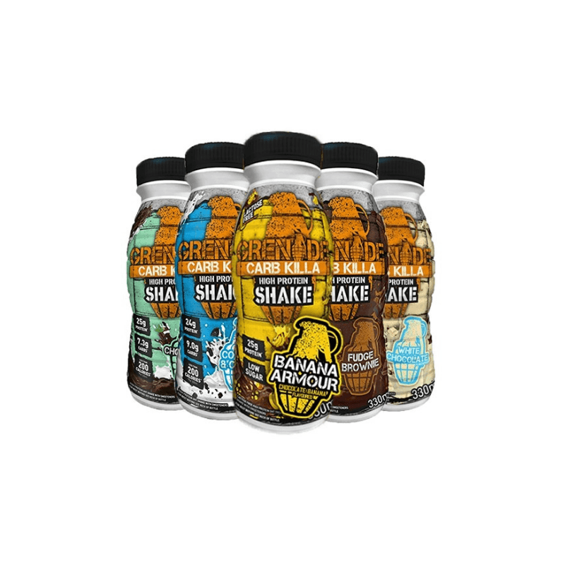 Carb Killa RTD - Grenade - 330 ml - white chocolate