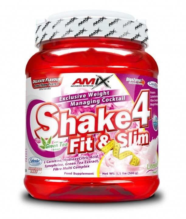 AMIX Shake 4 Fit & Slim 1000 g - chocolate
