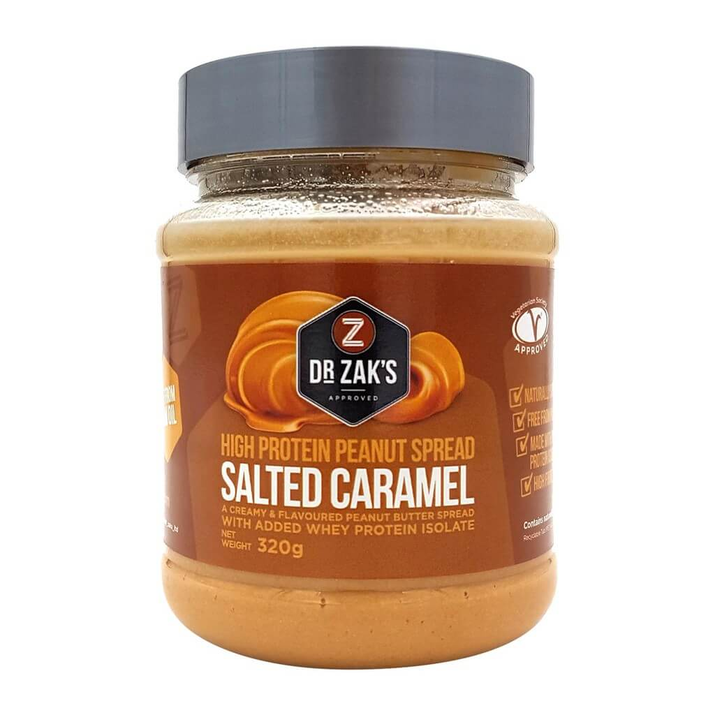 Dr Zaks High Protein Peanut Spread 320 g - sweet banoffee pie