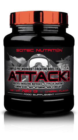 Scitec Nutrition Attack! 2.0 320 g - pear