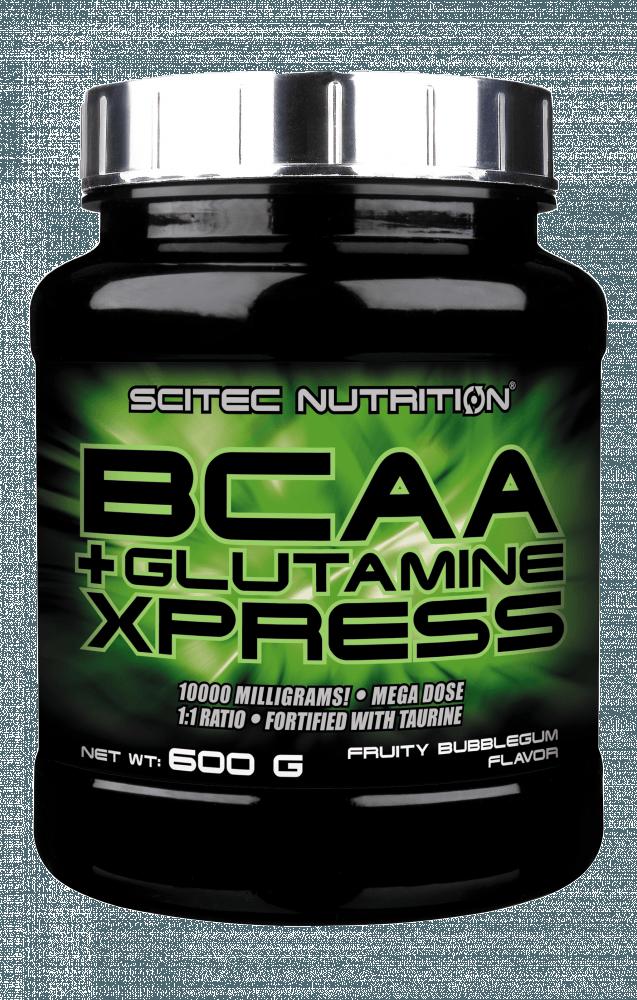 Scitec Nutrition BCAA + Glutamine Xpress 600 g - fruity bubblegum