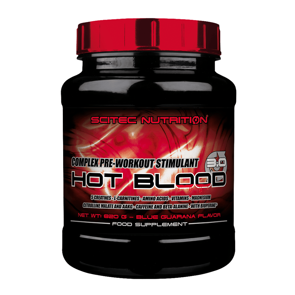Předtréninkový stimulant Hot Blood 3.0 - Scitec Nutrition