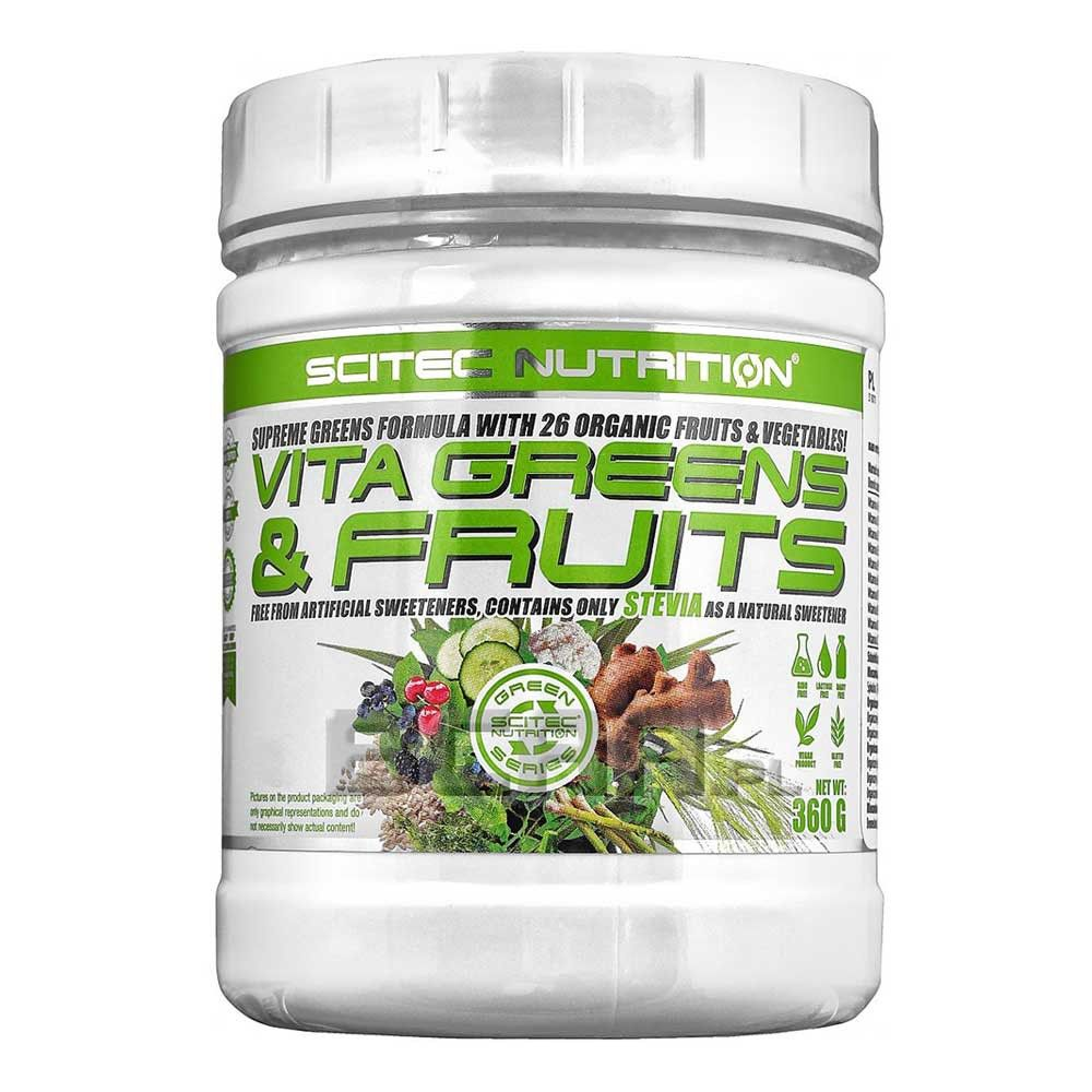 Vita Greens & Fruits with Stevia 360 g - Scitec Nutrition