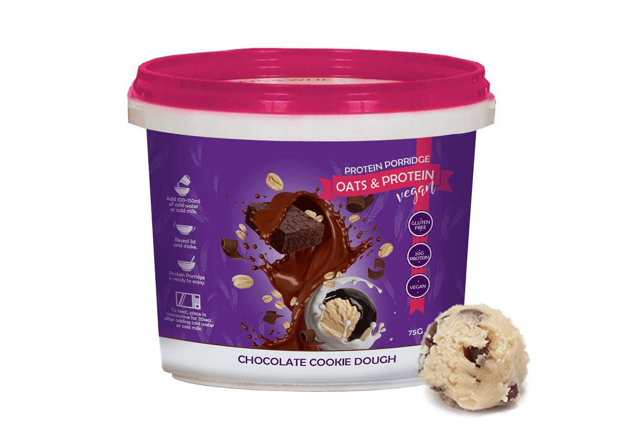 Feel Free Nutrition Protein Porridge Vegan 75 g - chocolate cookie dough