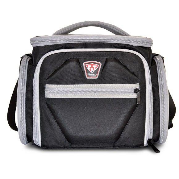 Športová taška na jedlo The Shield Black - Fitmark - čierna