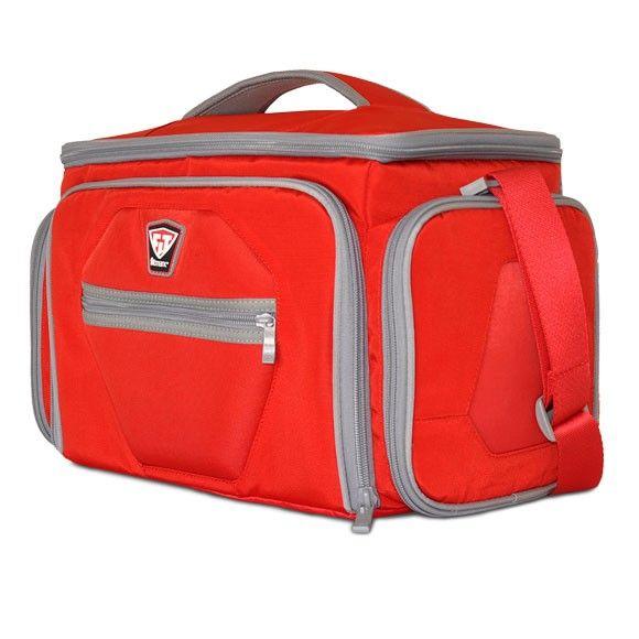 Športová taška na jedlo The Shield LG Red - Fitmark - red