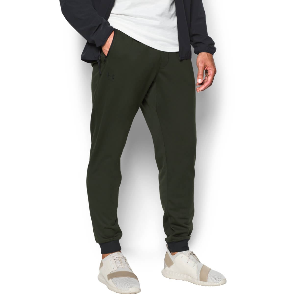 Tepláky Sportstyle Tricot Jogger Green - Under Armour