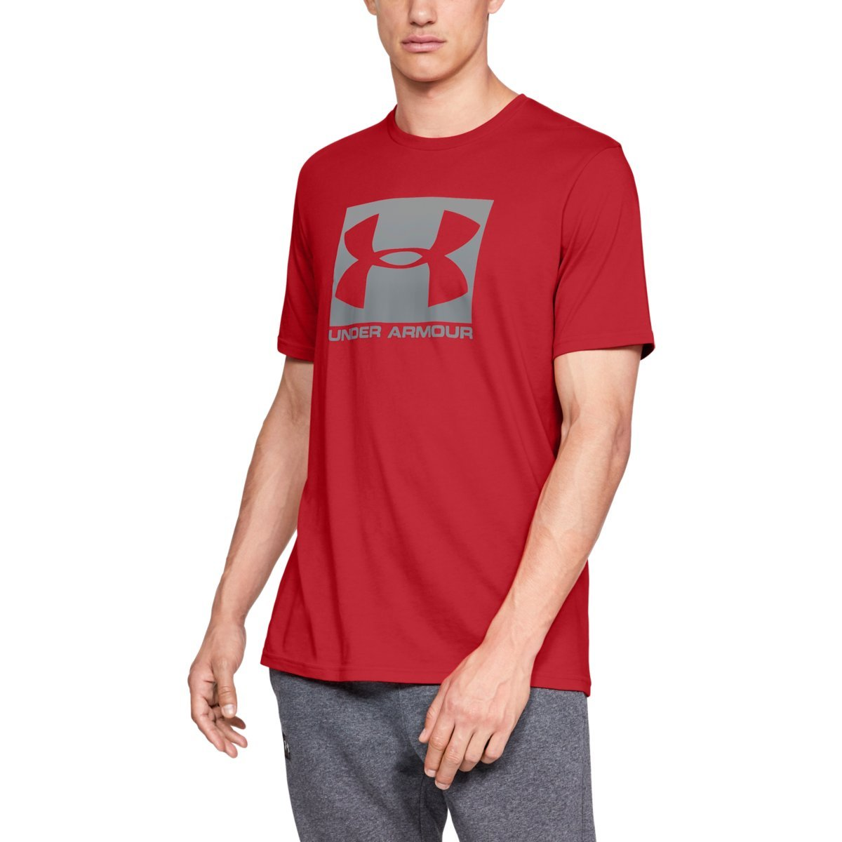 Tričko Boxed Sportstyle SS Red - Under Armour - S