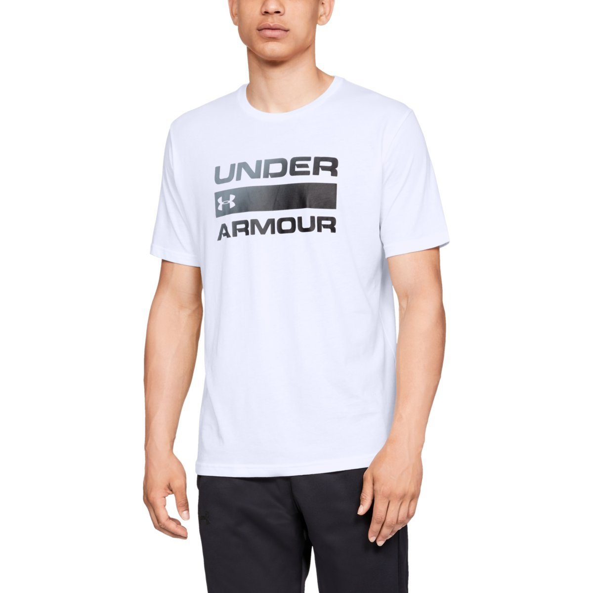 Tričko Team Issue Wordmark SS White - Under Armour - S