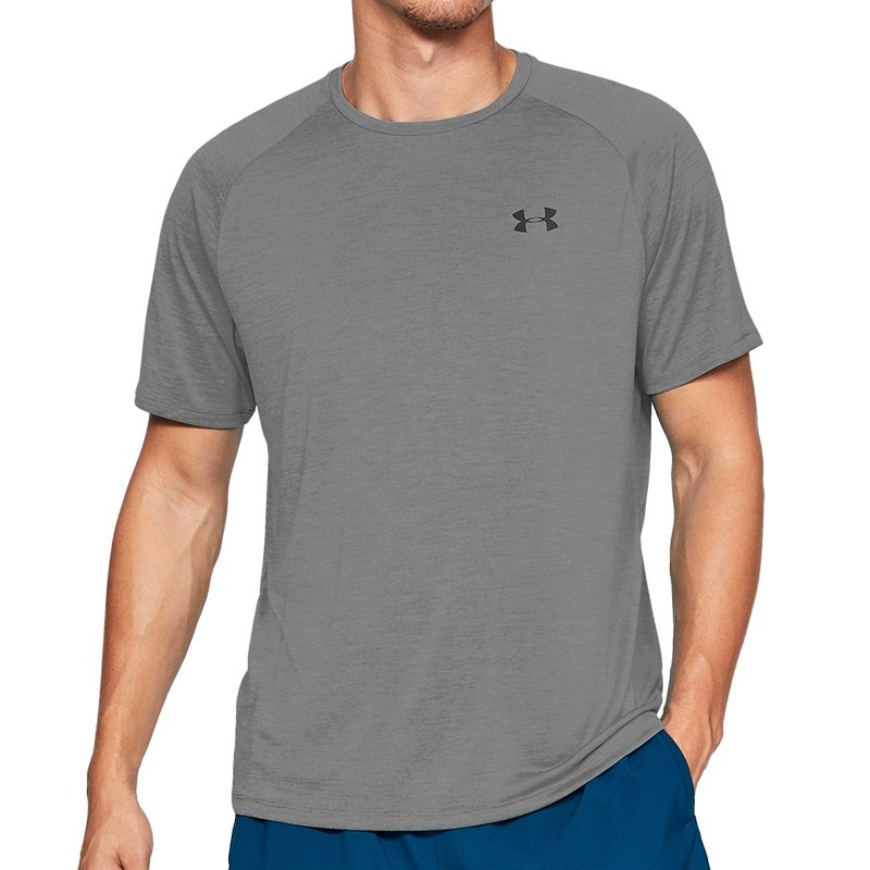 Tričko Tech SS Tee 2.0 Grey - Under Armour - S