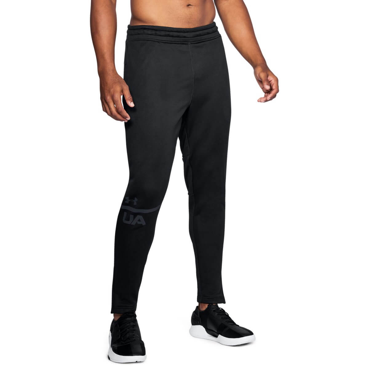 Under Armour Tepláky MK1 Terry Tapered Pant Black S