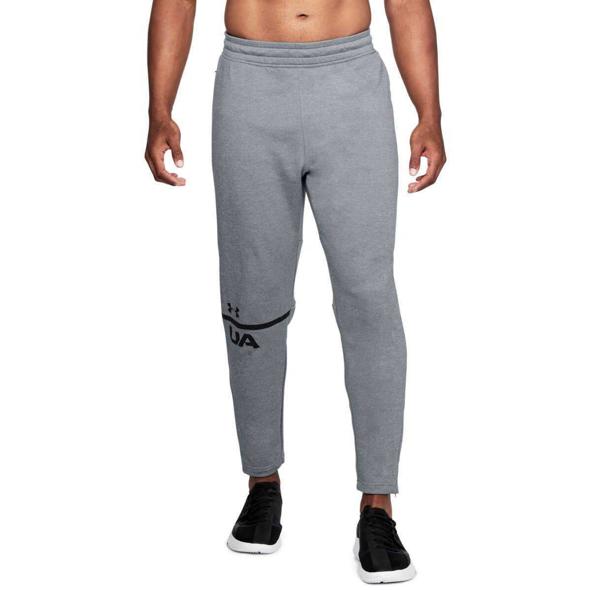 Under Armour Tepláky MK1 Terry Tapered Pant Grey M
