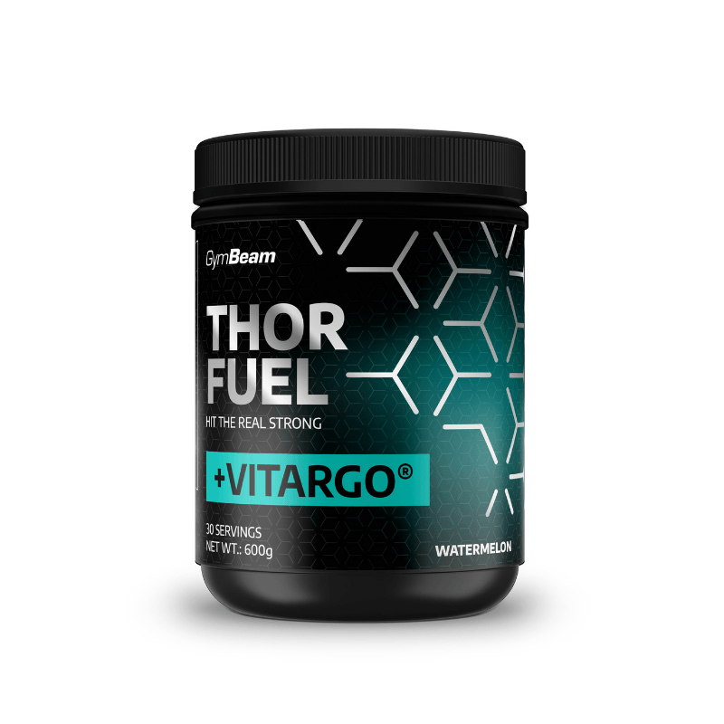 GymBeam Thor Fuel  Vitargo 600 g - watermelon