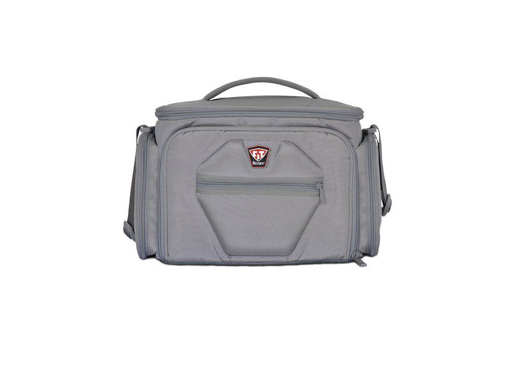 Športová taška na jedlo The Shield LG Steel Gray - Fitmark - steel gray