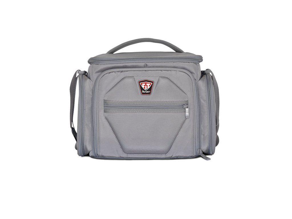 Športová taška na jedlo The Shield Steel Gray - Fitmark - steel gray