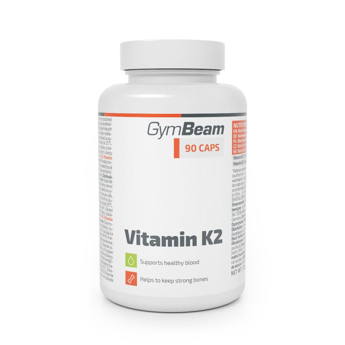 Levně Vitamín K2 90 kaps. - GymBeam