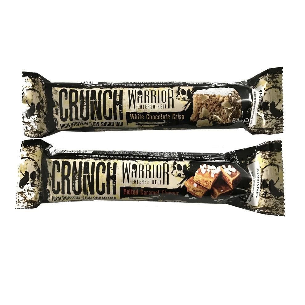 Warrior CRUNCH Bar 64 g - salted caramel