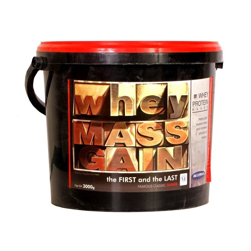 Gainer Whey Mass Gain 3000 g - Megabol-karamel