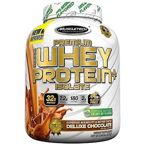 Muscletech 100% PREMIUM WHEY ISOLATE PLUS 1380 g - rich chocolate